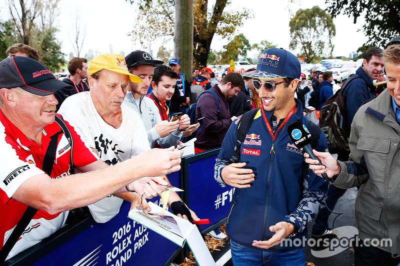 O mesmo aconteceu com Daniel Ricciardo