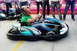 Sachin Tendulkar Sky karting inauguration