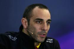 Сириль Абитбуль, управляющий директор Renault Sport F1 на пресс-конференции