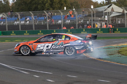 Andre Heimgartner, Lucas Dumbrell Motorsport Holden spin out