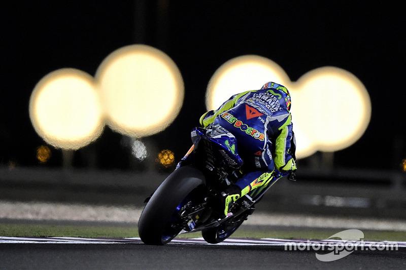 Rossi onder de lichten