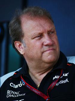 Роберт Фернли, руководитель Sahara Force India F1 Team