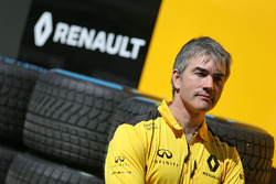 Nick Chester, Renault Sport F1 Team Chassis Technical Director