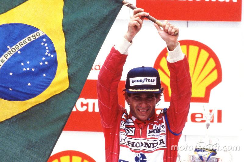 1991 Brezilya: McLaren MP4/6