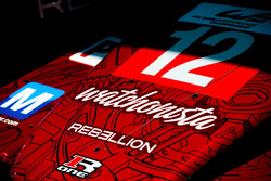 #12 Rebellion Racing Rebellion R-One AER: Nicolas Prost, Nick Heidfeld, Nelson Piquet Jr.