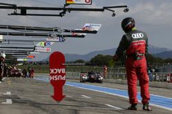 Марсель Фесслер, Андре Лоттерер и Бенуа Трелюйе, #7 Audi Sport Team Joest Audi R18
