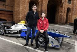 Alejandro Agag, CEO Formel E und Daniel Abt, ABT Schaeffler Audi Sport