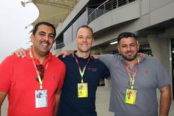 Salman Al Khalifa, Bas Koeten and Hussain Karimi, Bas Koeten Racing