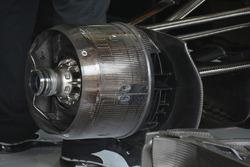 Detailaufnahme des Mercedes F1 W07