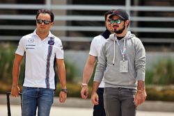 Felipe Massa, Williams with his brother Dudu Massa