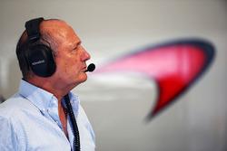 Рон Деннис, руководитель и владелец McLaren