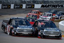 Ben Rhodes, ThorSport Racing Toyota und Kyle Busch, Kyle Busch Motorsports Toyota
