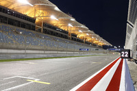 Die Startaufstellung am Bahrain International Circuit