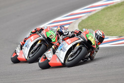Stefan Bradl, Aprilia Racing Team Gresini and Alvaro Bautista, Aprilia Racing Team Gresini