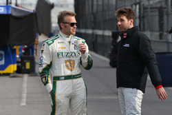 Ed Carpenter, Ed Carpenter Racing, Chevrolet; Will Power, Team Penske, Chevrolet