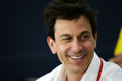 Toto Wolff, Mercedes GP Executive Director in the press conference
