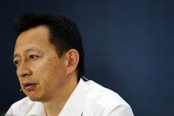 يوسوكي هاسيغاوا، رئيس قسم الفورمولا واحد في هوندا