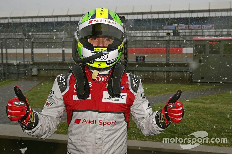 Lucas di Grassi, Audi Sport Team Joest in the snow