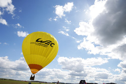 WEC hot air balloon