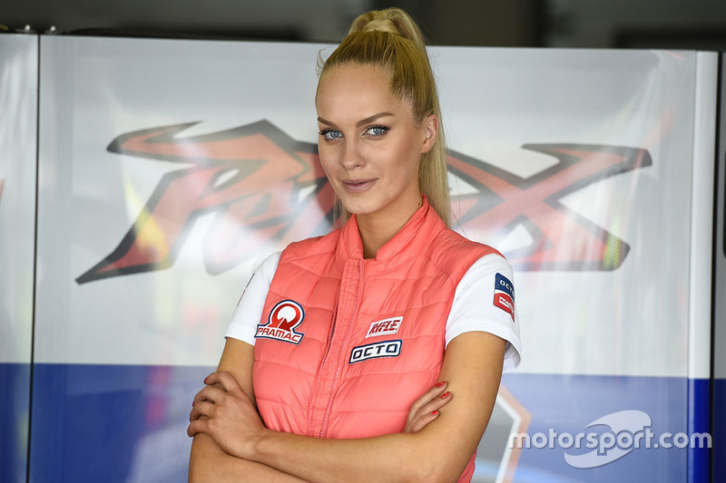 Loevly Pramac Racing girl