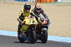 Johann Zarco, Ajo Motorsport hace retroceder Alex Rins, Paginas Amarillas HP 40