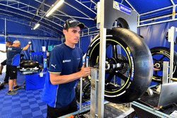 Michelin technician at work