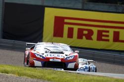 #6 HB Racing Lamborghini Huracテ。n GT3: Elia Erhart, Kelvin Snoekstein