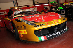 #50 Ineco - MP Racing, Ferrari 458: David Gostner