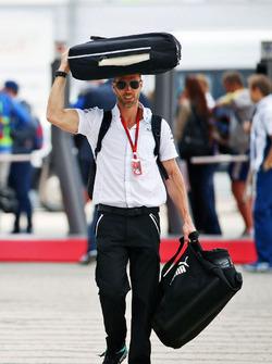 Даниэль Шлессер, физиотерапевт Mercedes AMG F1
