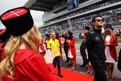 Джолион Палмер, Renault Sport F1 Team на параде пилотов