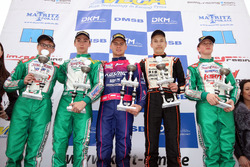 DKM Sieger Rennen 2: Karol Basz; Clement Novalak; Paavo Tonteri; Bent Viscaal; David Brinkmann