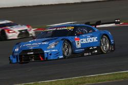 #12 Team Impul, Nissan GT-R Nismo GT3: Hironobu Yasuda, Joao Paulo de Oliveira