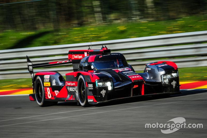 6h Spa: #8 Audi R18 e-tron quattro