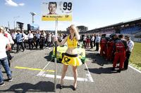 Gridgirl von Mike Rockenfeller, Audi Sport Team Phoenix, Audi RS 5 DTM