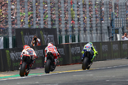 Valentino Rossi, Yamaha Factory Racing, Andrea Dovizioso, Ducati Team, Marc Márquez, Repsol Honda Team
