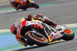 Marc Marquez, Repsol Honda Team with crash damage