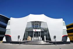 Motorhome Sauber F1 Team