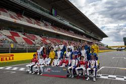 Fahrer beim GP3 Series Gruppenfoto