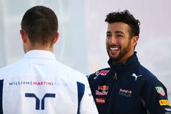 Daniel Ricciardo, Red Bull Racing ve Paul di Resta, Williams Yedek Pilotu