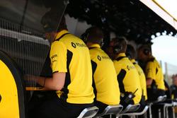 Renault Sport F1 Team pit gantry
