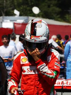 Себастьян Феттель, Ferrari во время квалификации