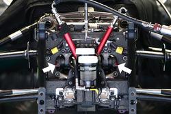 Detailansicht Mercedes AMG F1 Team W07, Radaufhängung
