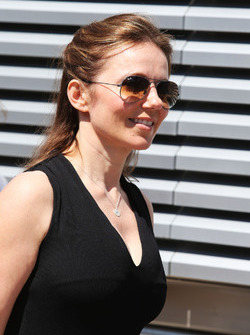 Geri Halliwell, Singer and wife of Christian Horner, Red Bull Racing Team Principal