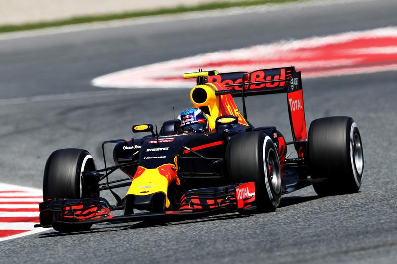 Spanien, Barcelona: Max Verstappen (Red Bull)