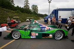 #88 Drayson Racing Lola B09/60 Judd at tech inspection
