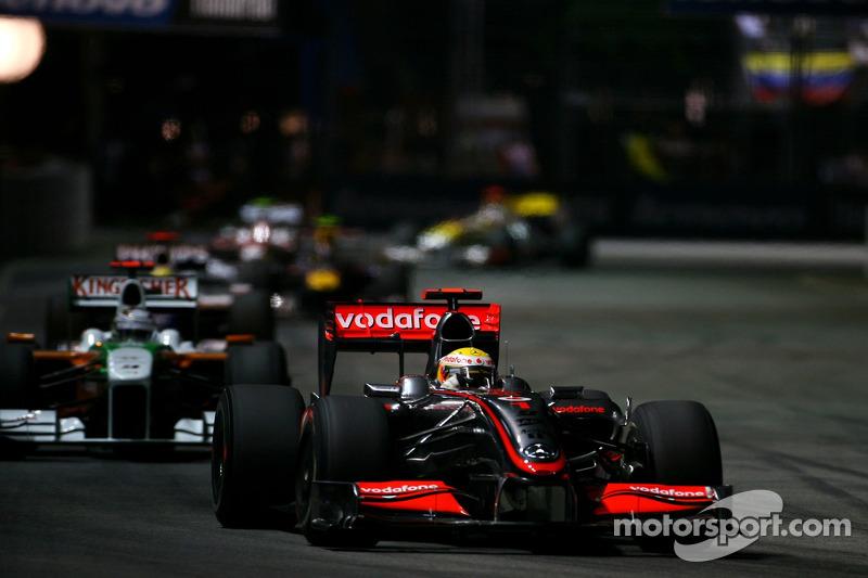 Гран Прі Сінгапуру 2009, McLaren MP4-24