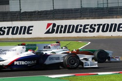 Adrian Sutil, Force India F1 Team recovers from a spin