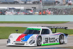 #59 Brumos Racing Porsche Riley: Joao Barbosa, Hurley Haywood
