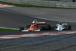 #32 Jeremy Smith Surtees TS20; #37 Christophe d'Ansembourg Williams FW07/C