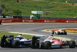 Kazuki Nakajima, Williams F1 Team e Kamui Kobayashi, Toyota F1 Team